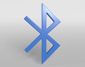Bluetooth Symbol v1 001 3D model