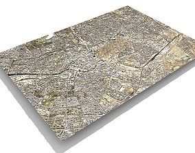 3D model Cityscape Berlin Germany Fragment of the city
