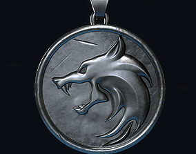 3D printable model The Witcher Medallion