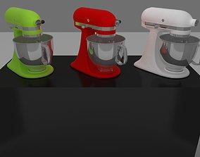 household 3D model kitchen mixer