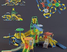 water Park slides2 3D