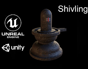 Shivling 3D asset