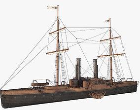 Steam Ship 3D