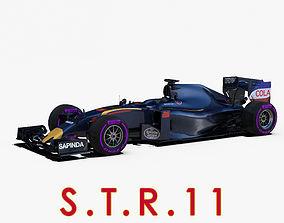 STR11 Car 3D asset