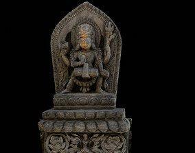 Vishnu with 2 LOD - Nepal Heritage 3D asset