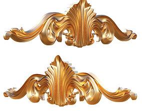 Ornament Carving Molding Decoration CNC 3D asset