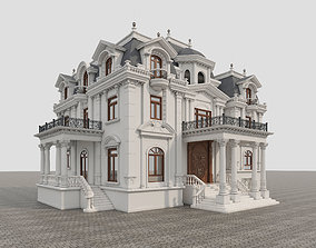 castle Classic Villa 3D model