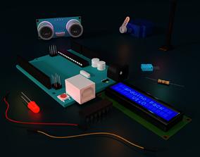 Arduino pack 3D model