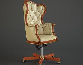 Office Boss Armchair 3D model