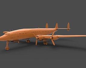 Lockheed Constellation 3D printable model