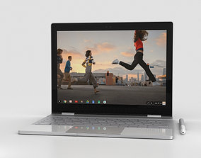 3D model Google Pixelbook