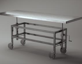 3D Mortuary table