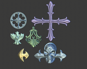 3D printable model Paine jewellery from Final Fantasy X-2