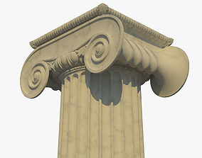 Ionic column b 3D