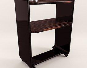 Small etagere - Art Deco 1920 3D model
