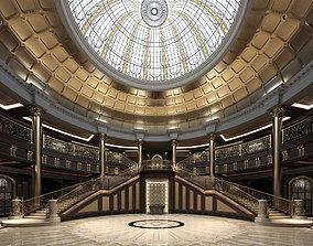 3D Palace Main Entrance Lobby