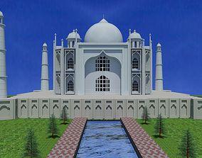 religiou-object 3D taj mahal