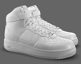 3D asset Air Force 1 Nike PBR