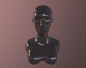character Woman Basemesh 3D model