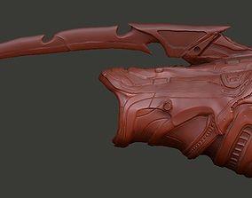 Fugitive Predator Gauntlet computer and blades 3D model