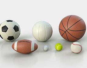 Balls Pack 3D football