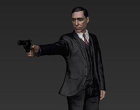 Al Pacino Michael Corleone Godfather full color 3D 1