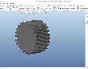 3D model Parametric Gear