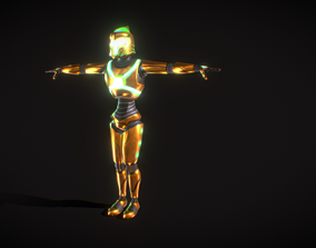 Legendary Robot - Free Low Poly 3d model animated
