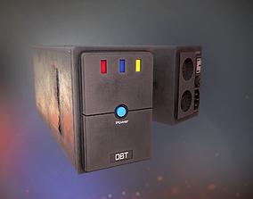 Battery PC 3D model