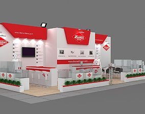 3D Exhibition Stand - ST0048