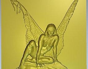 Angel Dame woman 3D printable model