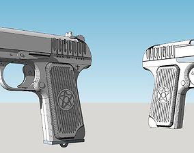 TT33 PISTOL 3D print model