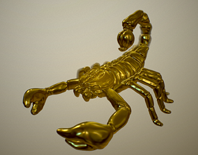 Skoprion pendant 3D printable model