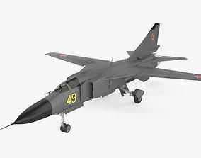 3D model Mikoyan Gurevich MiG-23