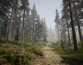 PineTree for Game 3D model