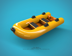 zbrush Toy Boat 3D printable model