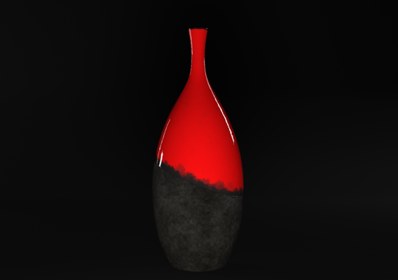 Ceramic - Concrete Vase