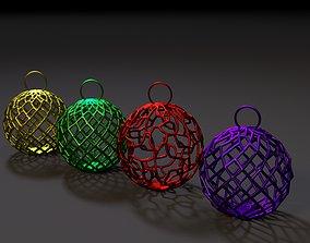 3D print model Christmas decoration ball