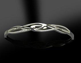 Fashion Bracelet luxury 3D printable model