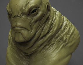 figurines Monster fat guy for 3d printing