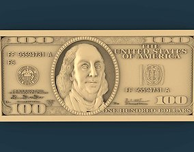 US Dollar 3d stl models for artcam and aspire