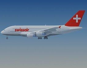 3D model Swiss Air