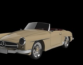 Mercedes-Benz 190 SL 1960 3D