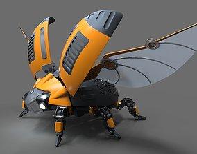 3D Robot Beetle Ladybug
