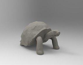Tortoise 3D Printable Low-Poly