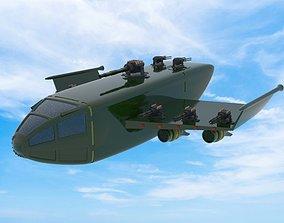 3D model Troop carrier