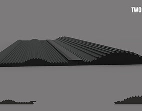 3D print model Wave sluice mat