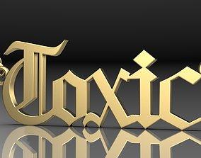 3D model The pendant Toxic