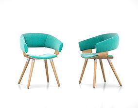 Allermuir Mollie chair 3D