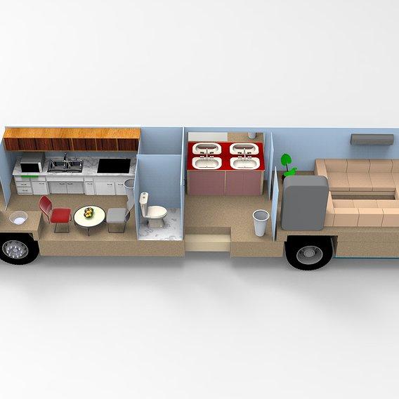 TATA-Vanity Van and Mobile Toilet